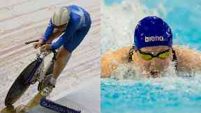 Katie Archibald (left) and Hannah Miley (right) are amongst Scotland's top medal hopes.