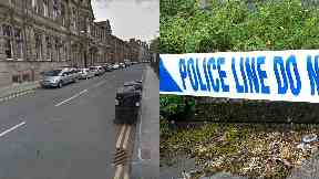 Edinburgh: A cordon was put in place.