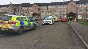 Holytown: Man pronounced dead at scene.