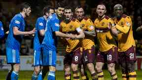 Aberdeen won the sides' most recent encounter 2-0 at Fir Park.