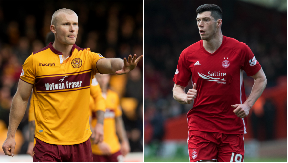 January signing Curtis Main will line up against Scotland defender Scott McKenna.
