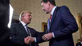 Comey and Trump's relationship is no longer cordial.