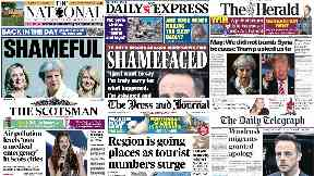 ScotPapers: The front pages from across Scotland.