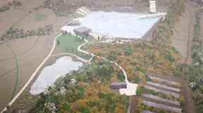 Quarry: Artist's impression of new development.