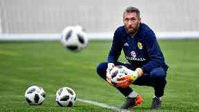 Scotland goalkeeper Allan McGregor has returned to Rangers.