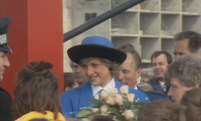 Princess Diana and Prince Charles opened the event.