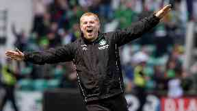 Charge: Lennon's celebration could draw a ban.