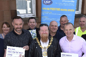 Choose Life: Kris Boyd and Ray Montgomerie launch campaign.