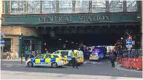Central Station: A young man was hit by a tour bus.
