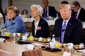 Trump at the G7 summit
