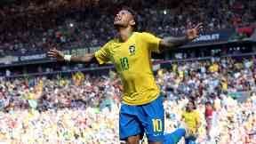 PSG forward Neymar is Brazil's star man.