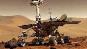 NASA's Mars rover Opportunity.