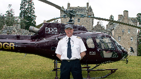 Pilot: Peter Clunas worked for PDG Aviation Services.