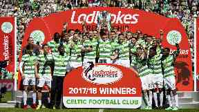 Celtic are closing in on another Premiership title.
