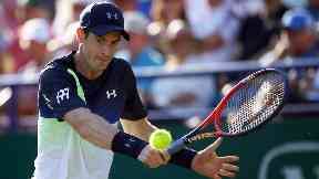 Comeback: Murray has targeted the Australian Open to make his return