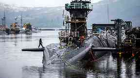 Trident: Replacing nuclear deterrent will cost billions.