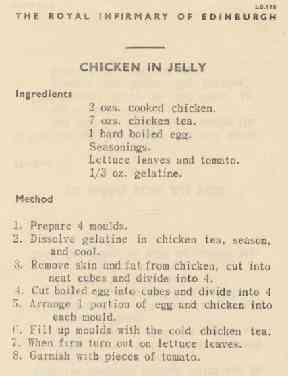 Chicken in jelly recipe