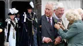 Queen: At ceremony in Edinburgh.