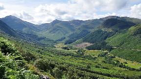 Glen Nevis: View from Ben Nevis.