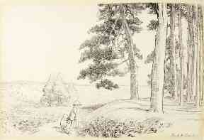 This original illustration by EH Shepard from AA Milne's The House on Pooh Corner sold for £200,000 at auction.