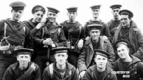 Brothers: Members of James Robertson's battalion.