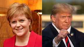 Invite: Nicola Sturgeon was not invited to meet Trump.