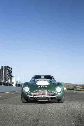 The Aston Martin went under the hammer at the annual Festival of Speed sale at Goodwood