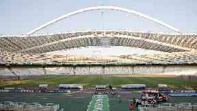 Home soil: The Olympic stadium is a multi-purpose ground which seats 69, 618 .