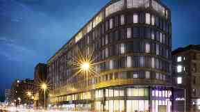 Yotel: Hotel will incorporate a rooftop bar and bowling alley