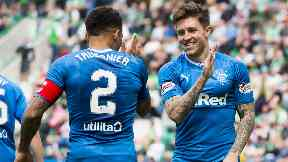 Targets: Rangers players could be on the move.