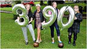Anniversary: The first women's football game was recorded in South Lanarkshire.