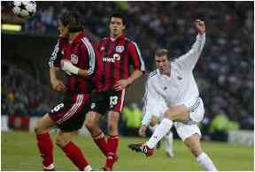 Zidane's wonder goal for Real Madrid in 2002.