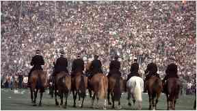 Riot: Hampdens darkest day in 1980.