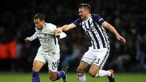 McAuley (right) is a free agent after leaving West Brom.