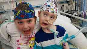 McKenzie's cheeky personality cheered up patients and staff in the hospital.