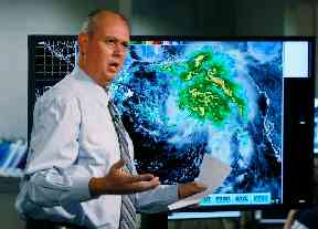 Ken Graham, director of the National Hurricane Centre, as the Gulf Coast hustled to get ready for Tropical Storm Gordon
