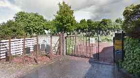 Eastern Cemetery: The pair were caught naked.
