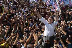 National Social Liberal Party presidential candidate Jair Bolsonaro