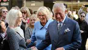 Duke and Duchess of Rothesay: In Glasgow.
