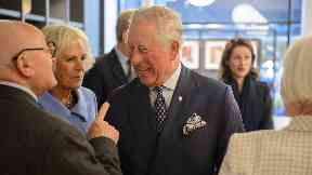 Charles and Camilla: Opened tea rooms.