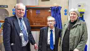 Health: Professor James Hutchison has been remembered as a 'true pioneer' of MRI technology.