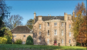 Baberton House: On market for £1.35m.