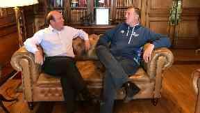 Lord Provost with Doddie Weir.