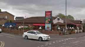 Glasgow: Drive fled the scene.