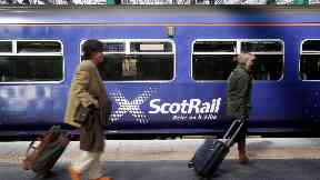ScotRail: Glasgow - Inverness services cancelled (file pic).
