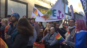 Pride: First in Inverness for more than a decade.