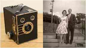 Hunt: The Kodak Portrait Brownie was full of undeveloped film.