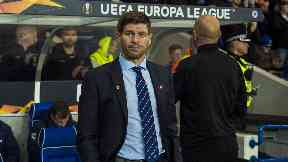 Steven Gerrard was in a confident mood ahead of tonight's game.