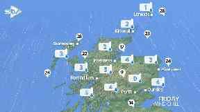 Snow: Temperatures are plummeting.