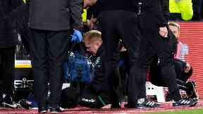 Coin: Neil Lennon was left disgusted.
